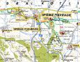 Detailn� turistick� mapa 1:50000 - Detailed turistic map